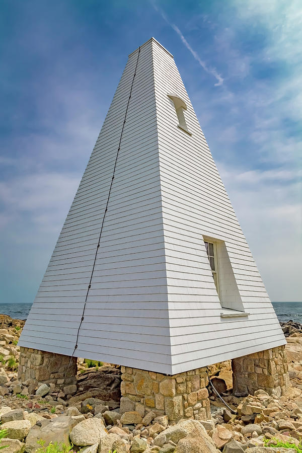 Bell Photograph - Pyramid Bell Tower Maine by Betsy Knapp