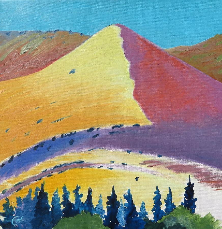 Pyramid Painting