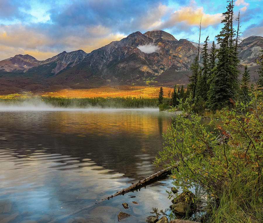 Pyramid Lake Autumn Reflections by Dan Sproul