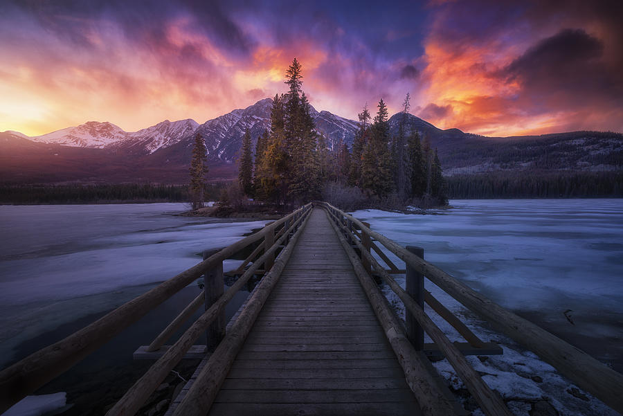 Pyramid Lake Photograph by Carlos F. Turienzo