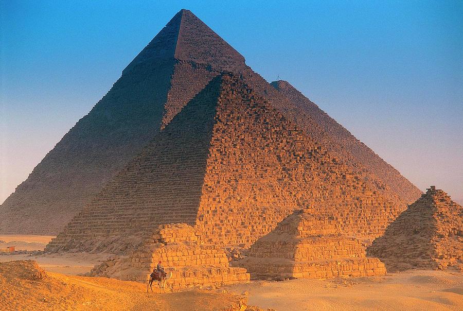 Pyramids, Cairo, Egypt Photograph by Peter Adams