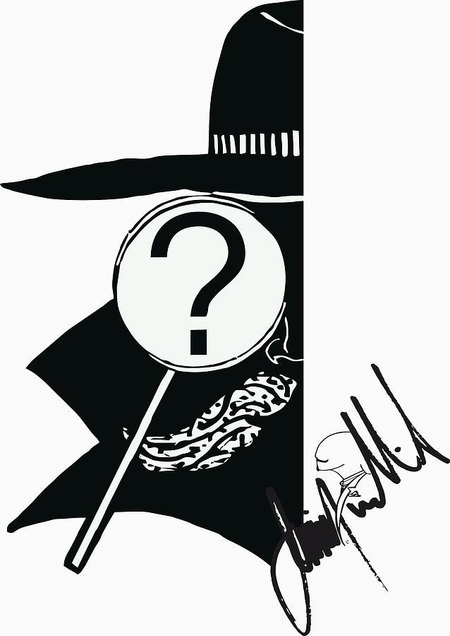 Q Digital Art by Jimmy Williams