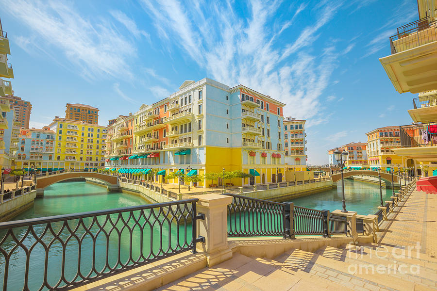 Qanat Quartier Doha by Benny Marty