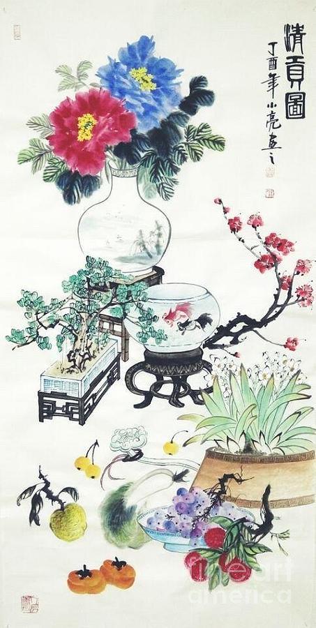 Qing Gong Tu by Li LIANG