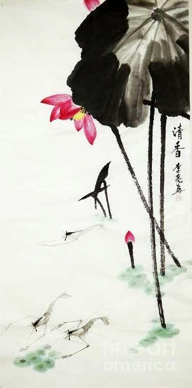 Qing Xiang Tu by LI LIANG