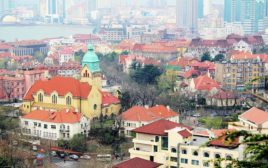 Qingdao City Photograph by W-anshu