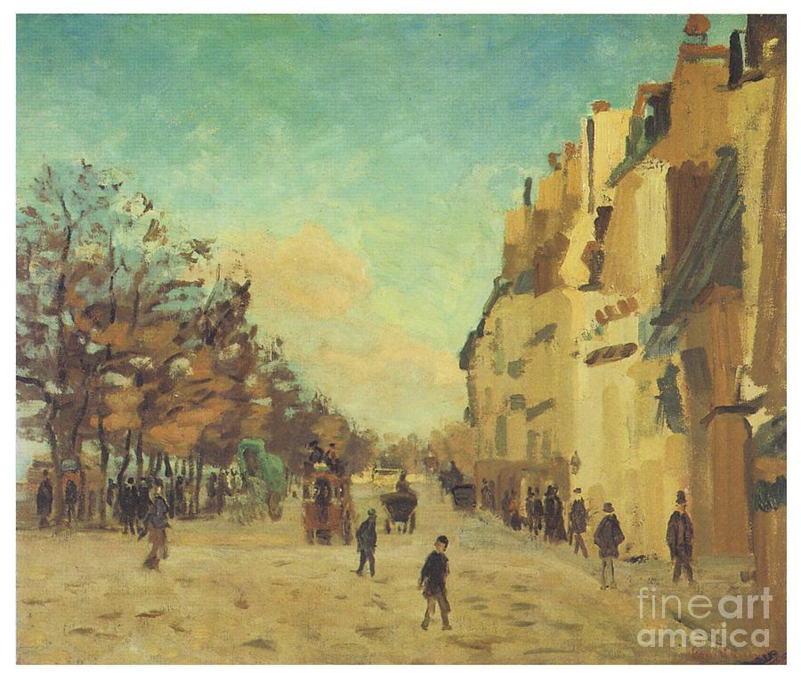 Quai de la Gare by JEAN-BAPTISTE ARMAND GUILLAUMIN