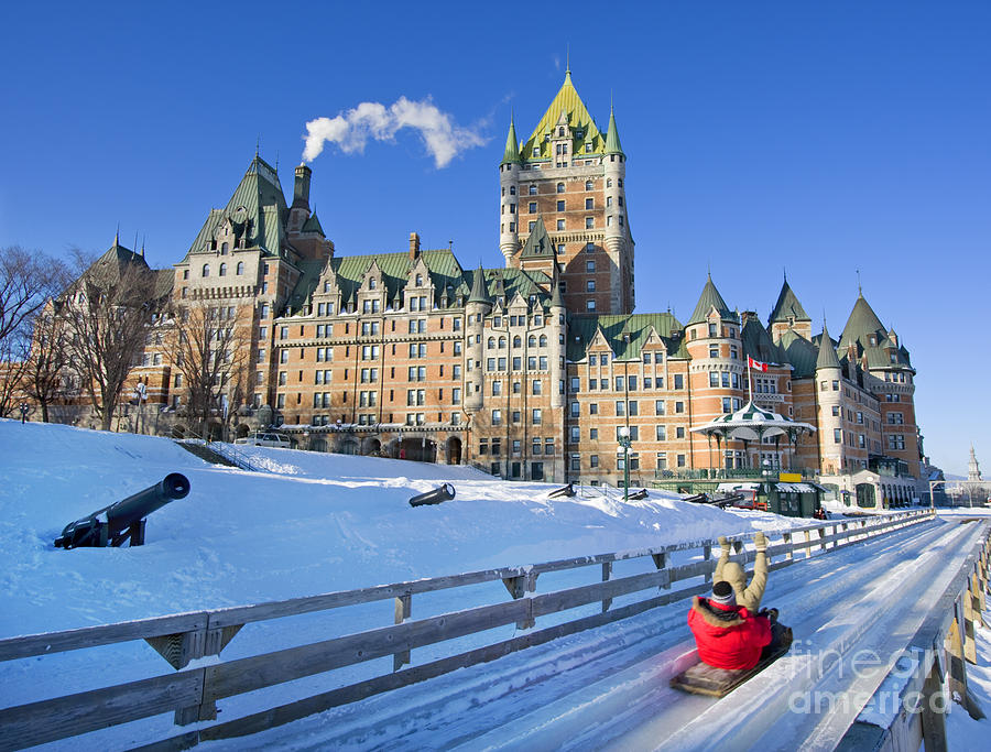 Quebec City Photograph - Quebec City In Winter, Traditional by Vlad G