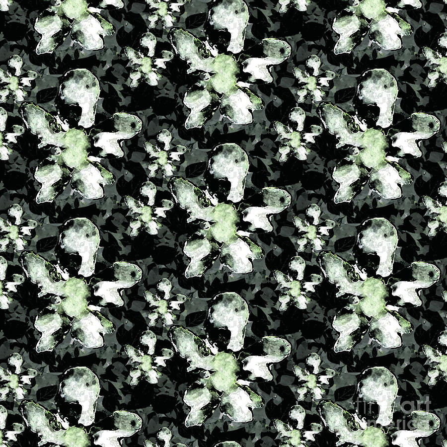 Queen Anne Digital Art By Poppy Pod Contemporary Botanical Art