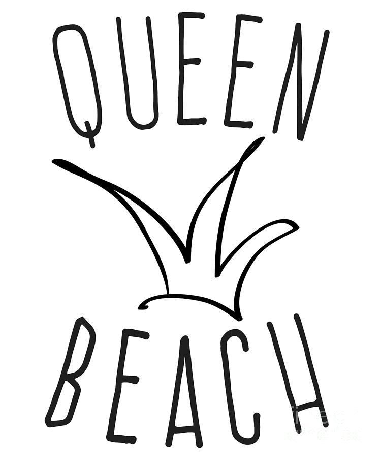 Queen Beach by Flippin Sweet Gear