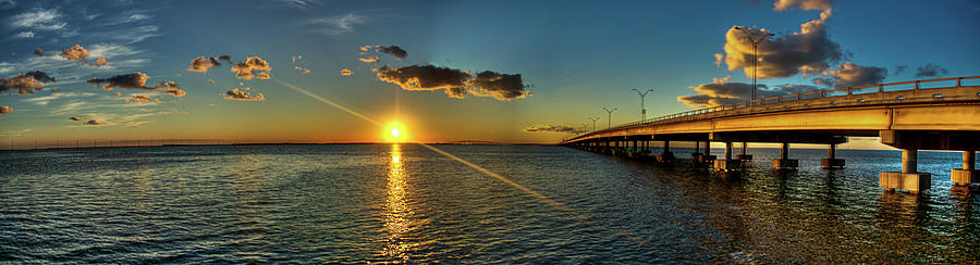 Queen Isabella Causeway Photograph by Joshua Bozarth