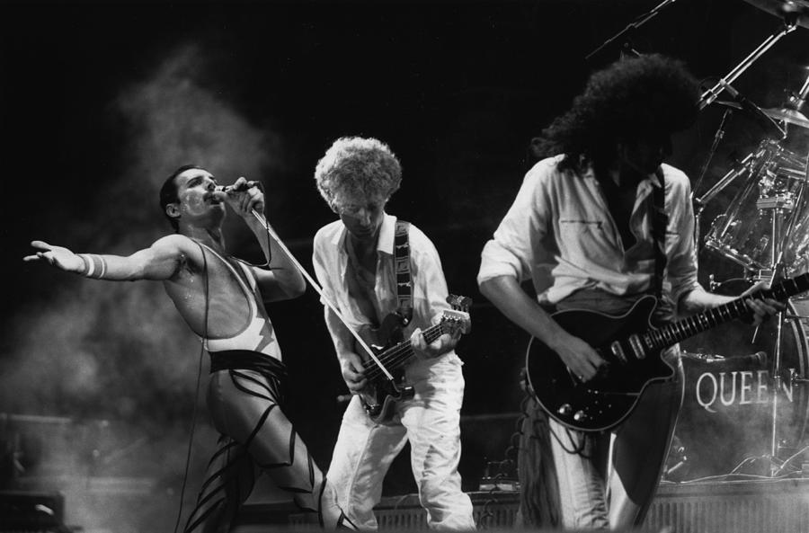 Queen Live Photograph by Express Newspapers