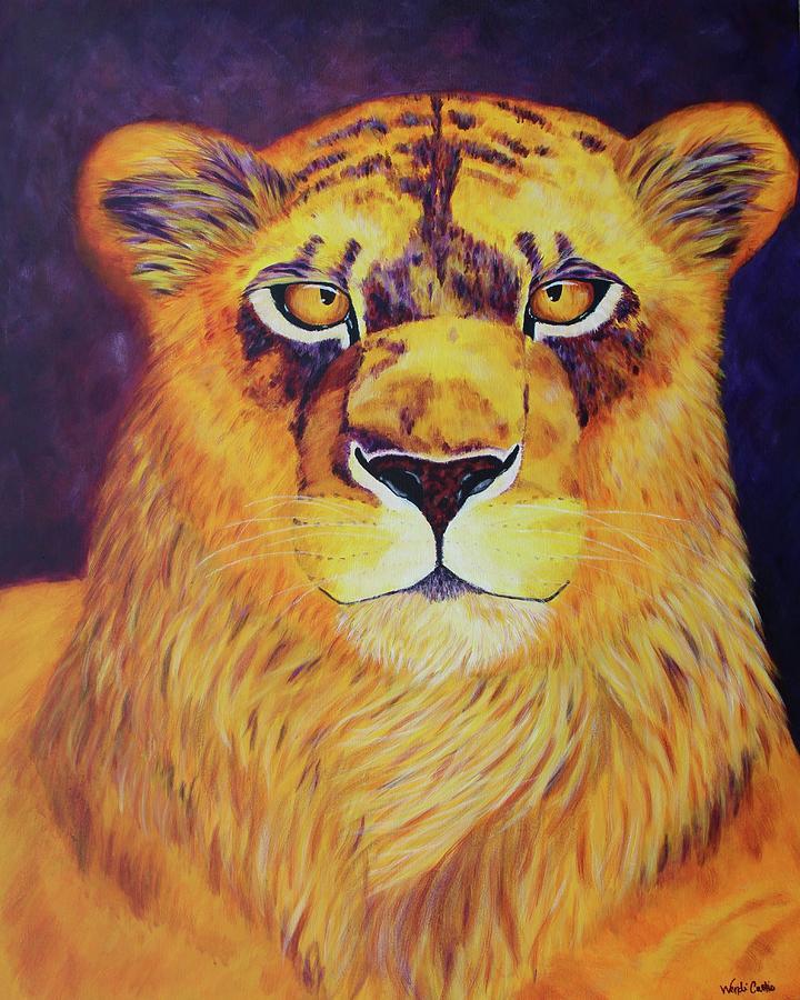 Queen Of Africa Painting