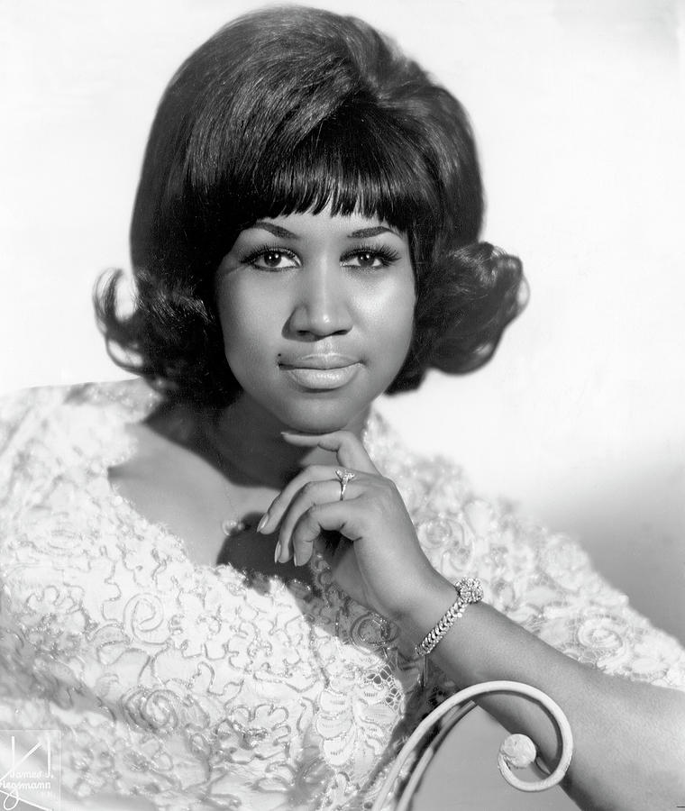 Queen Of Soul Portrait Photograph by Michael Ochs Archives
