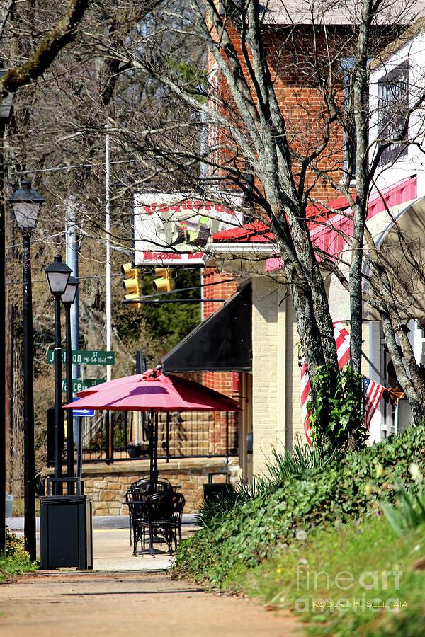 Queen Street Spring 2 by Robert M Seel
