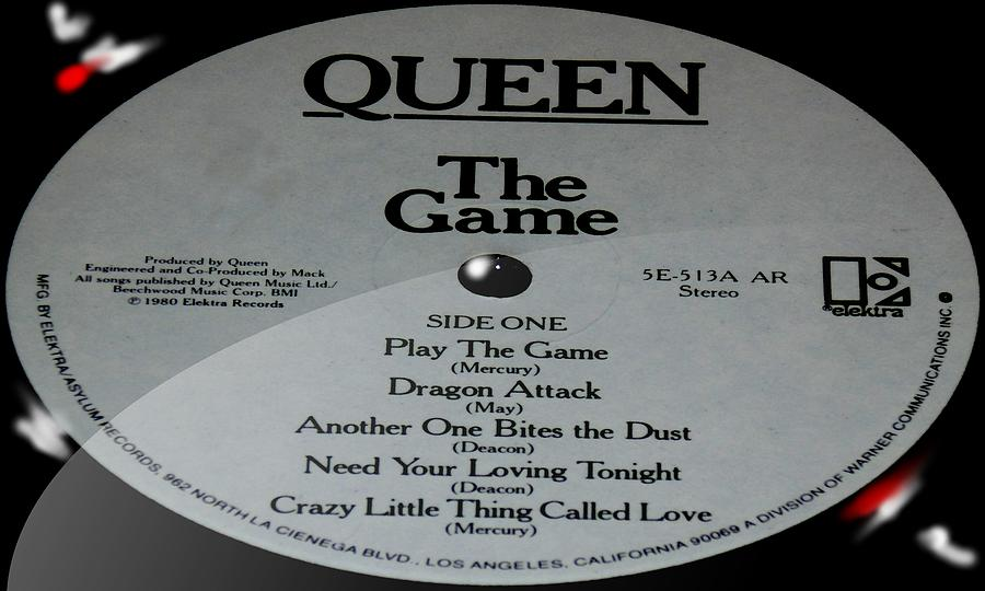 Queen - The Game - Side 1 by Marcello Cicchini