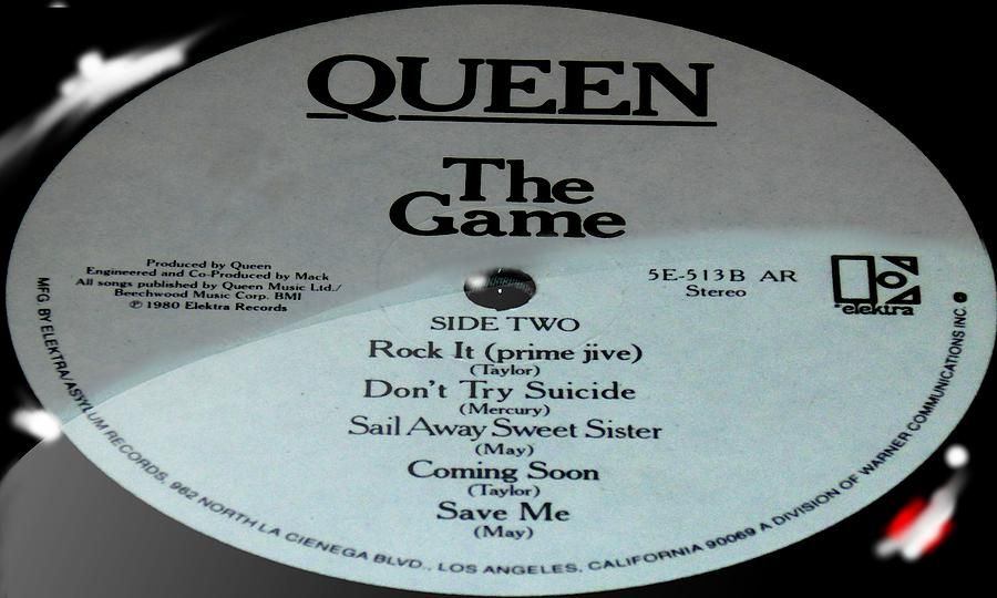 Queen - The Game - Side 2 by Marcello Cicchini