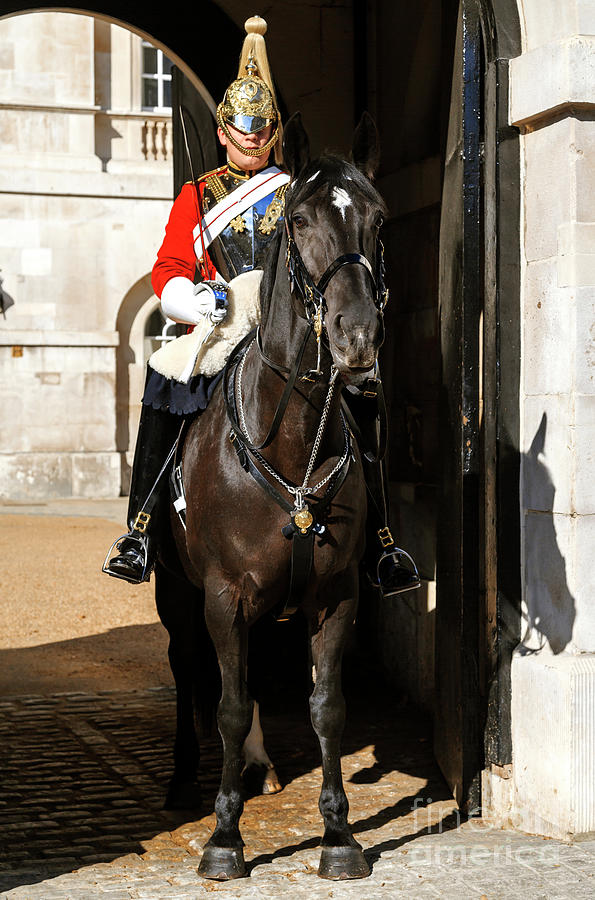 Queen's Life Guard in London by John Rizzuto