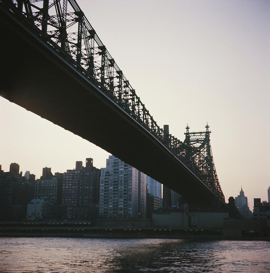 Queensboro Bridge Photograph by Authenticated News