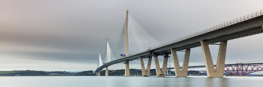 Queensferry Crossing Bridge 3-1 by Grant Glendinning
