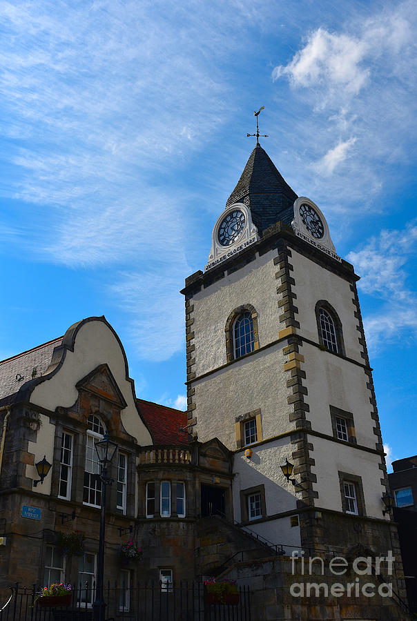 South Queensferry Photograph - Queensferry Tolbooth by Yvonne Johnstone