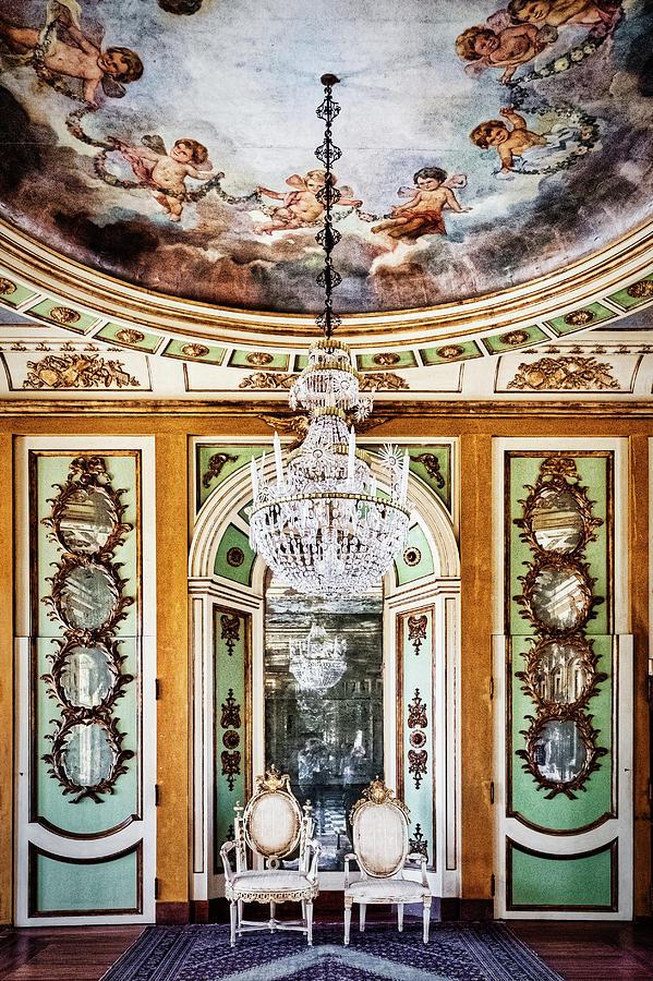 Queluz Palace Interior - Portugal by Stuart Litoff