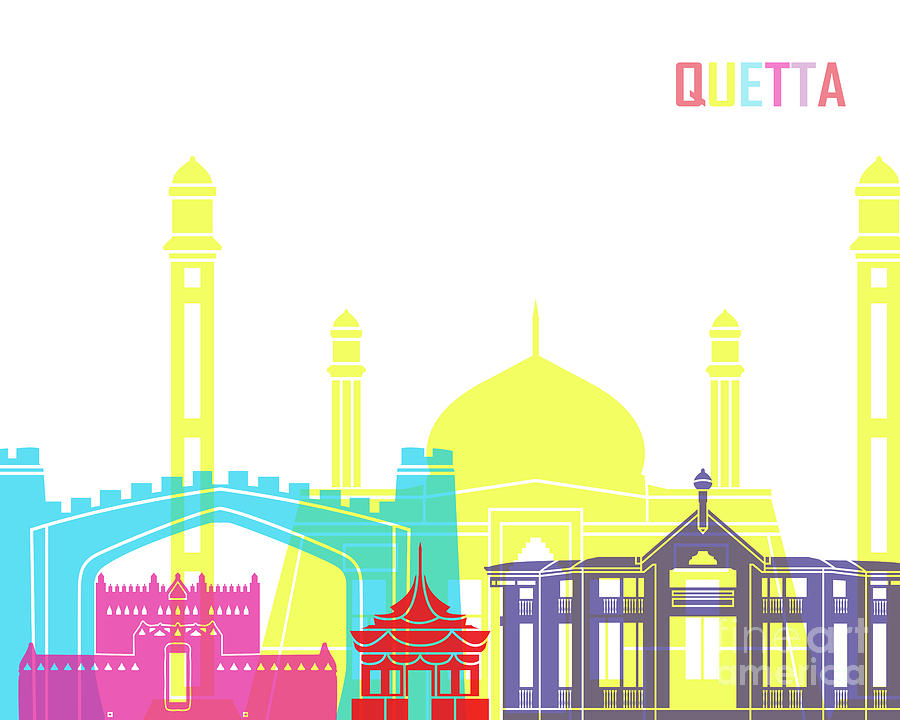 Quetta skyline pop by Pablo Romero