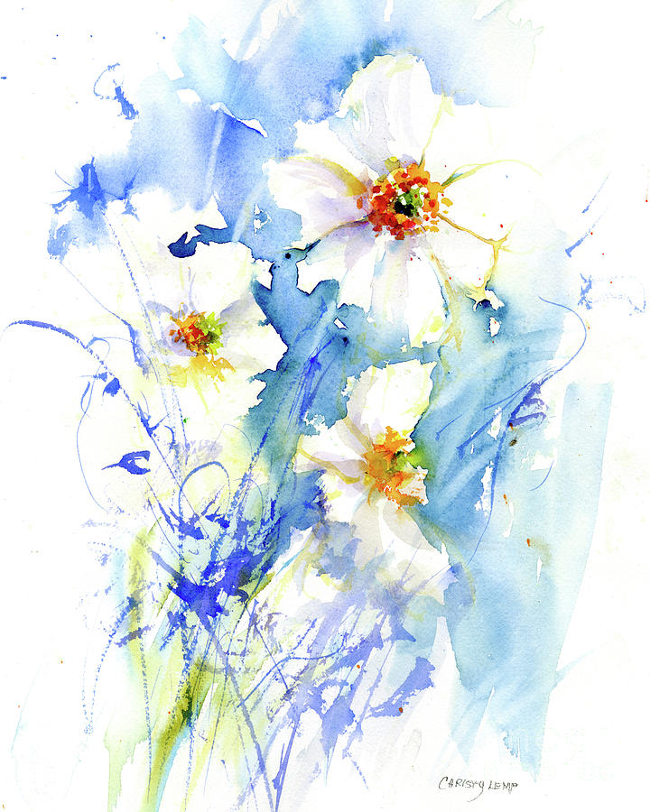 Quiet Anemones by Christy Lemp