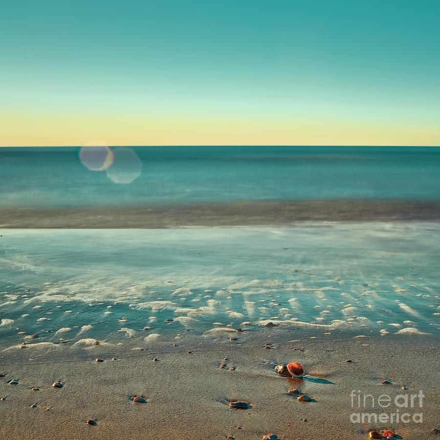 Quiet Beach Photograph