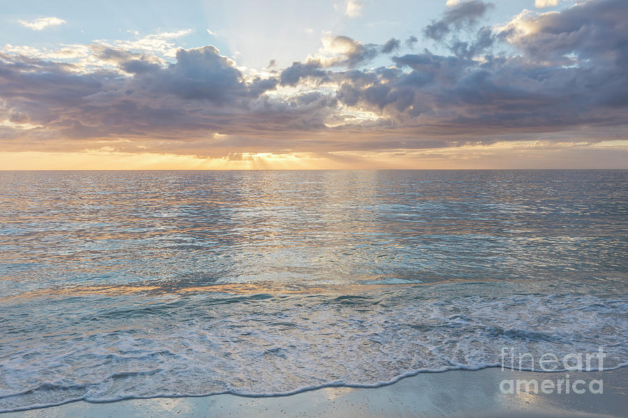 Quiet Evening over the Gulf of Mexico by Brian Jannsen