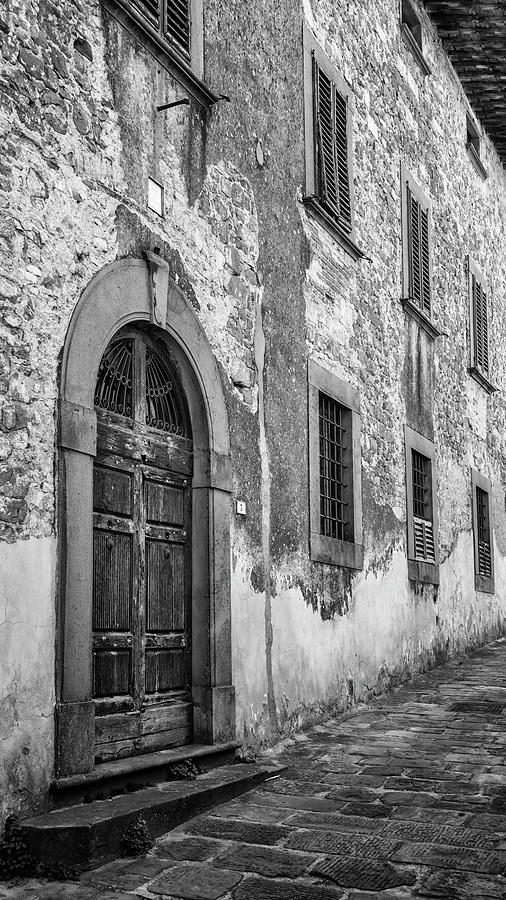 Quiet Lane Montecatini Alto Italy by Joan Carroll