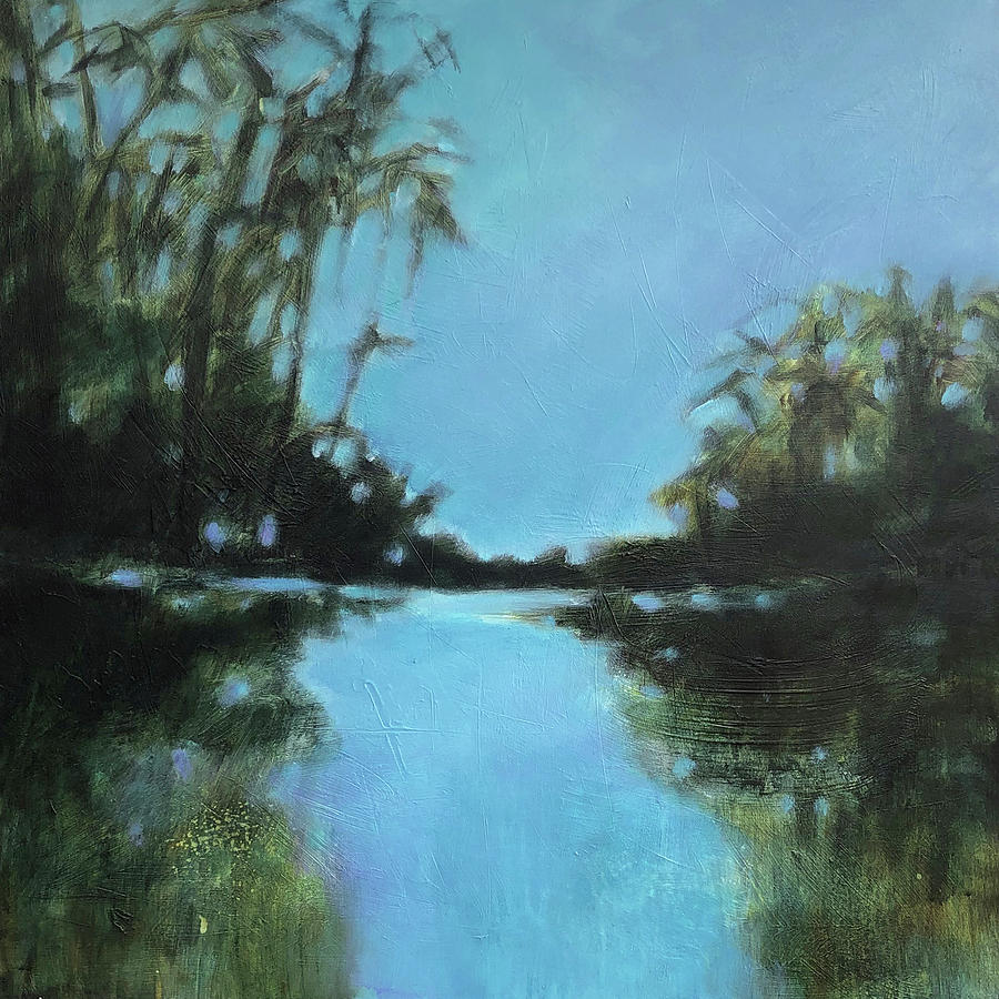 Landscape Painting - Quiet Waters by Filomena Booth