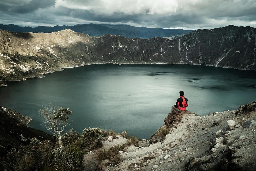 Quilotoa Lake, Ecuador by Kamran Ali