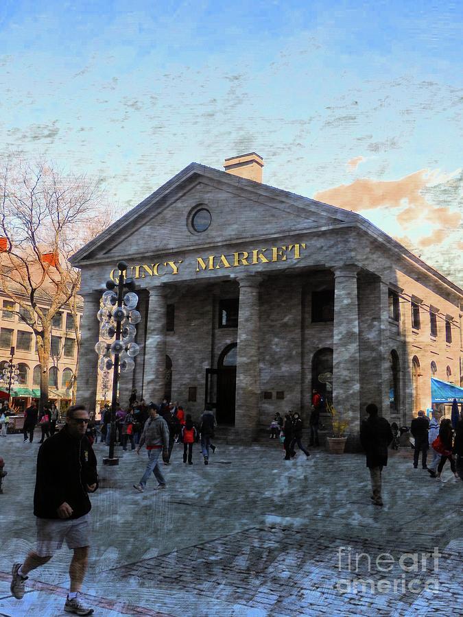 Quincy Market by Marcia Lee Jones