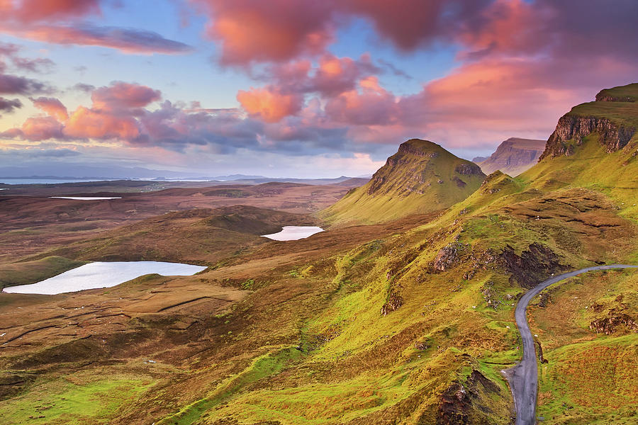Quiraing View Photograph by By Michael Breitung Photography -> Www.mibreit-photo.com