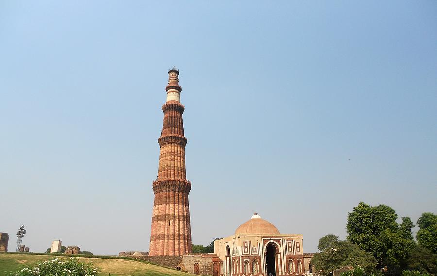 Qutub Minarqutub Tower, Delhi-india Photograph by Veena Nair