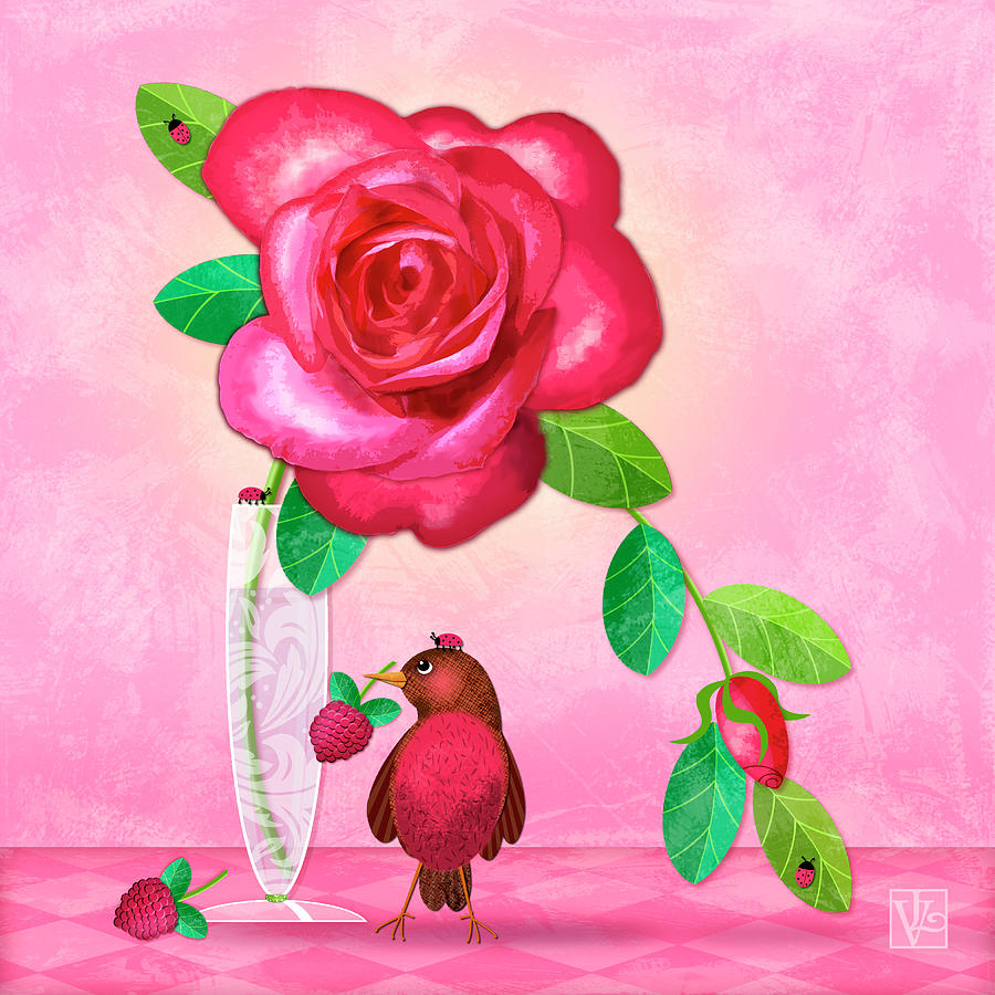 R is for Rose and Robin by Valerie Drake Lesiak