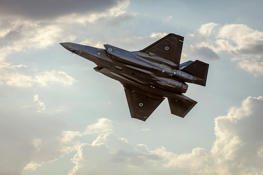 RAAF F-35A Lightning II Joint Strike Fighter by Chris Cousins