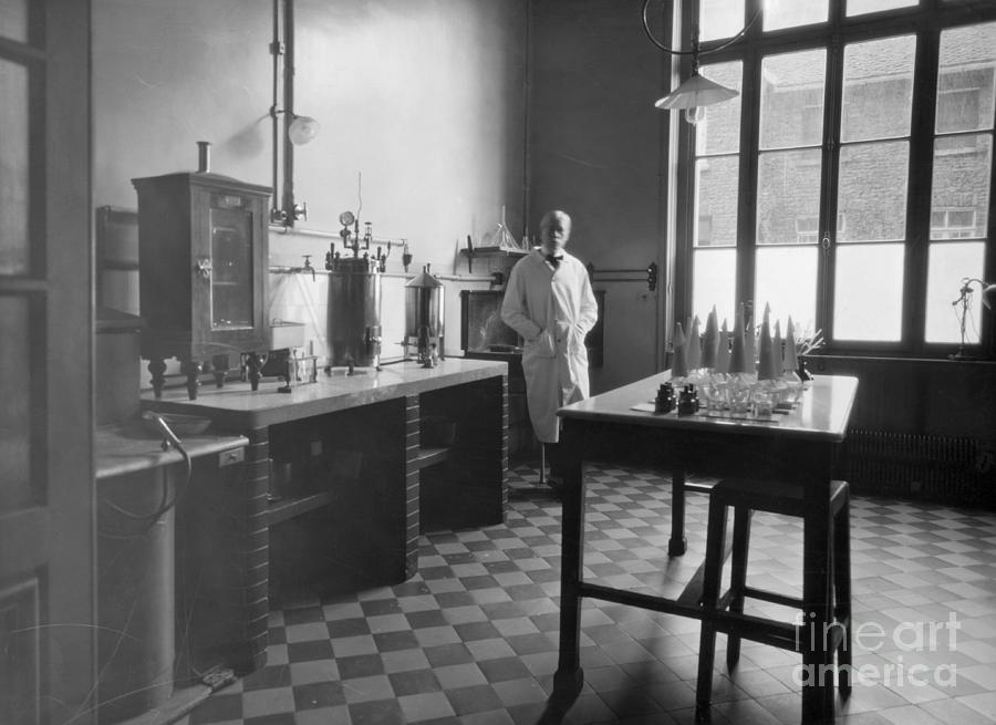 Rabies Testing Laboratory At Pasteur Photograph by Bettmann