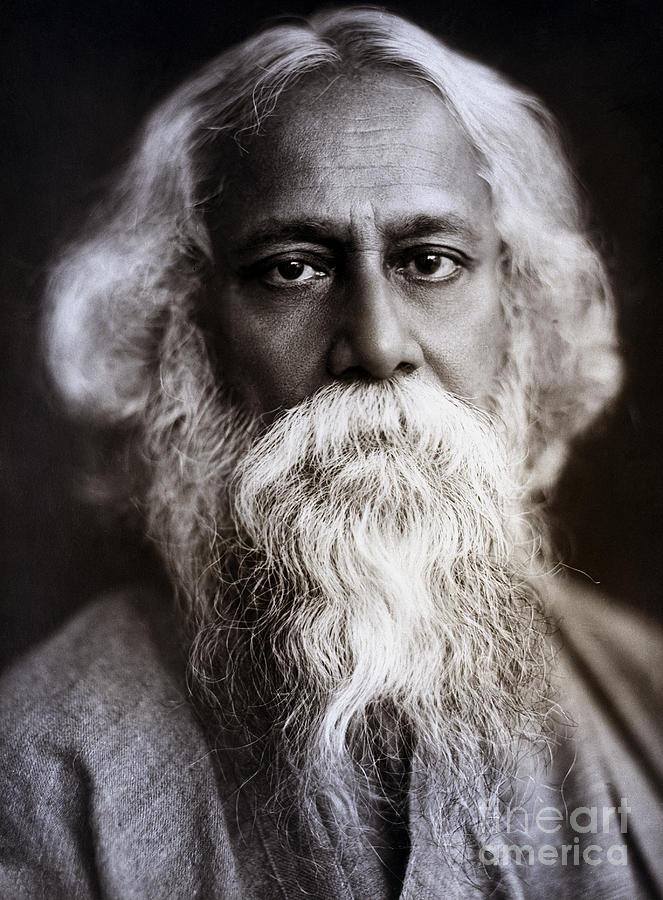 Rabrindrath Tagore, Indian Poet Photograph by Bettmann