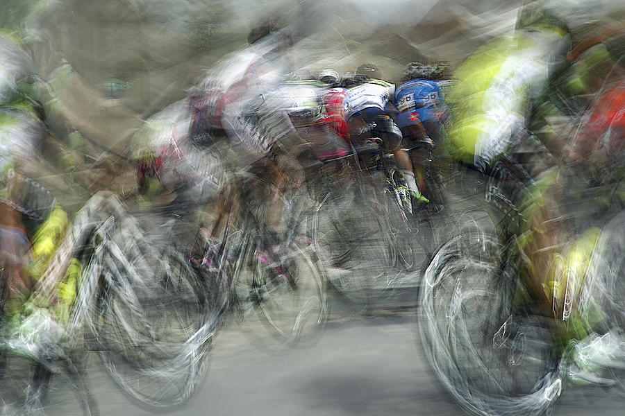 Action Photograph - Race In Action by Milan Malovrh