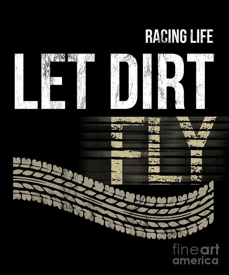 Racing Apparel Sprint Car Racing Dirt Track Racing Tshirts