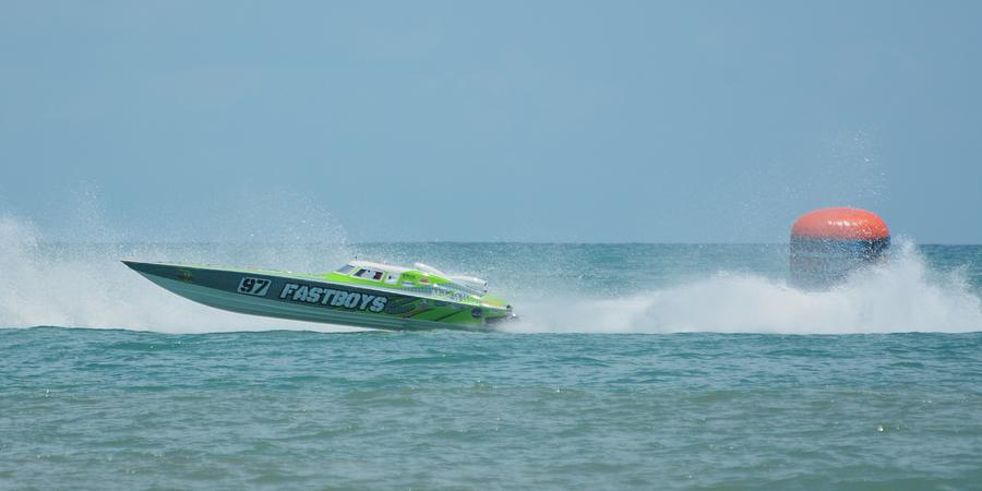Racing Powerboat Fastboys by Bradford Martin