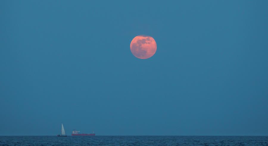 Racing the Moon by David Kay