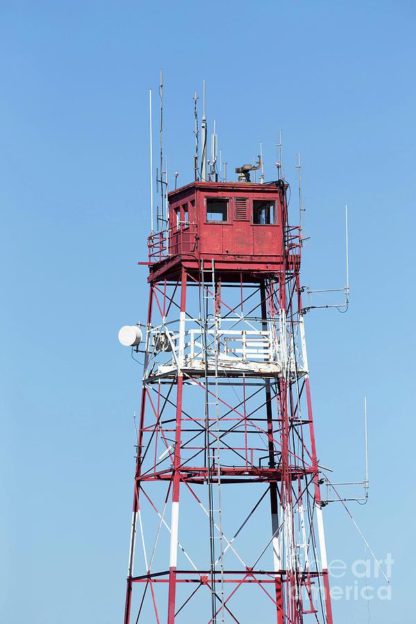 Cell Photograph - Radar Tower by Edward Fielding