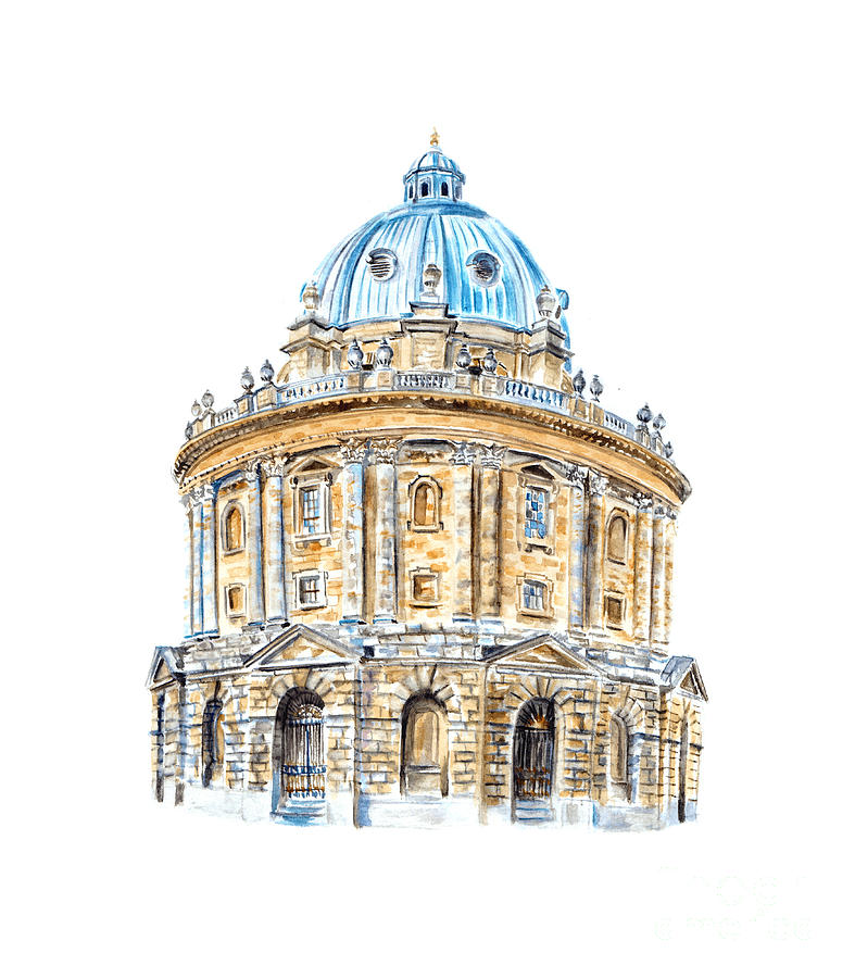 Radcliffe Camera by Elizabeth Lock