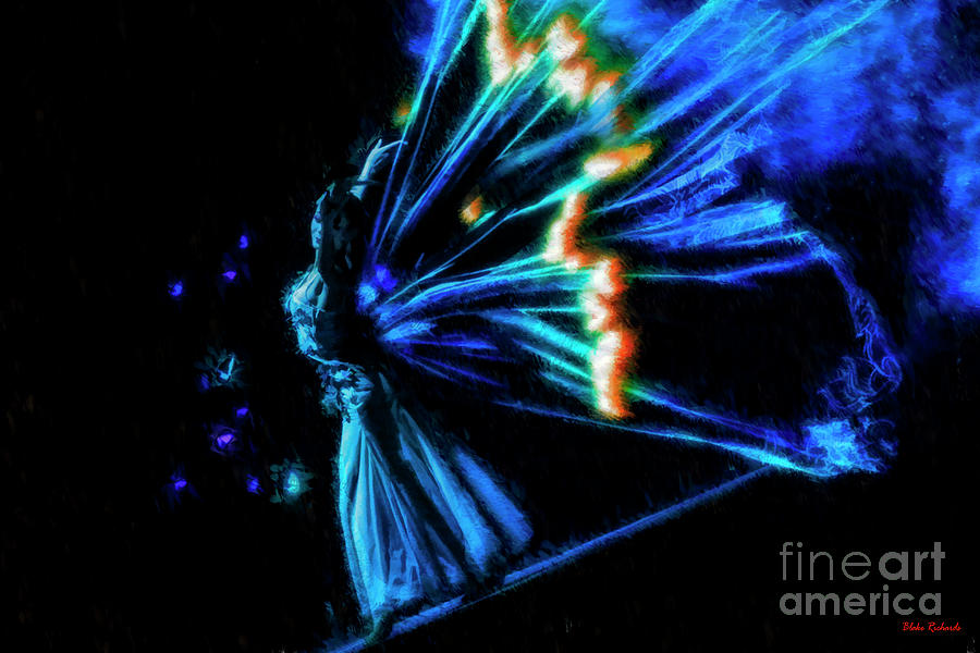 Radiant Butterfly Dance by Blake Richards