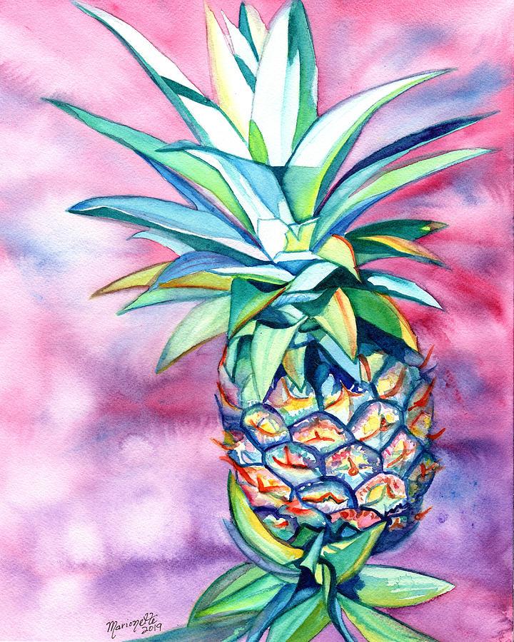 Radiant Pineapple by Marionette Taboniar