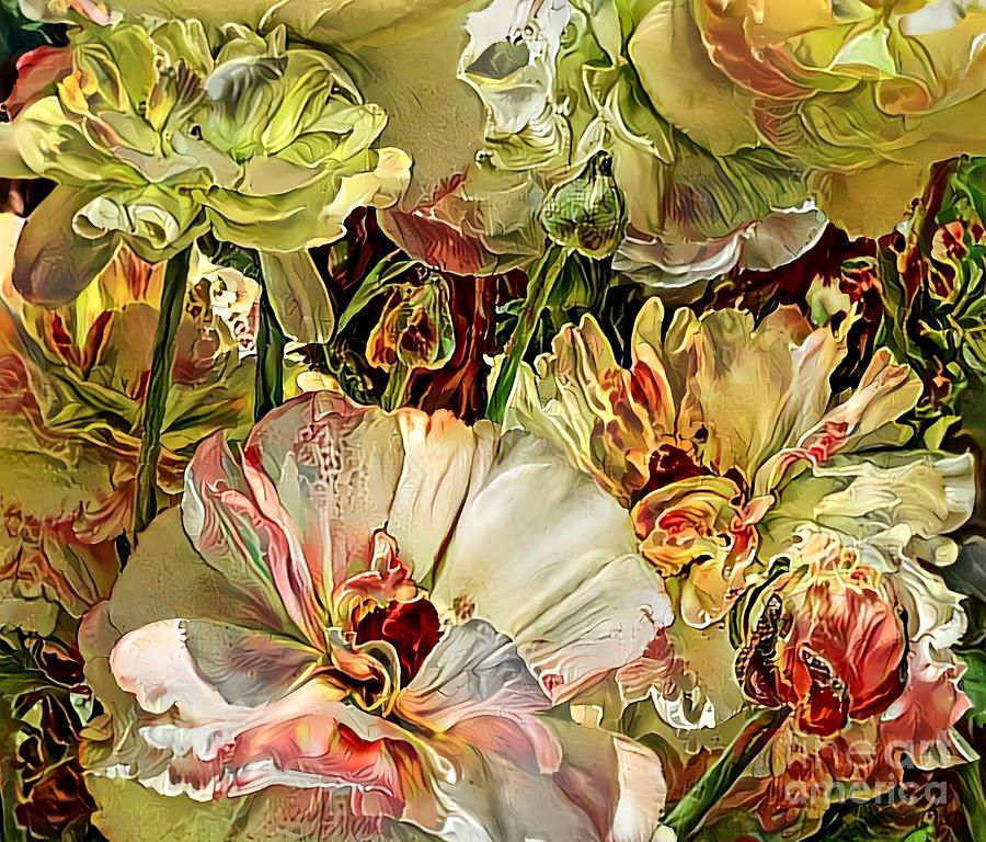 Radiant Ranunculus by Trudee Hunter
