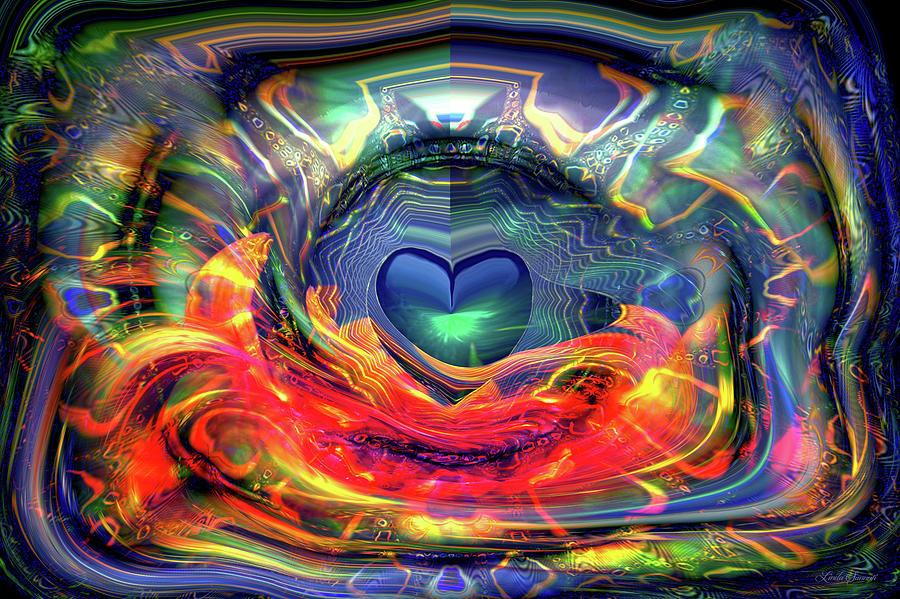 Radiating Love by Linda Sannuti